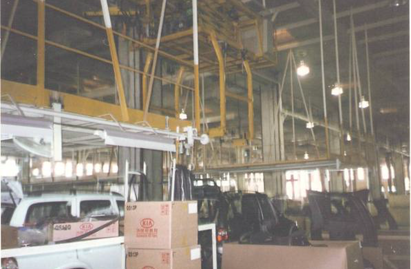Slat and Overhead Conveyors for Dewan Farooque Motors Ltd